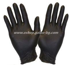 Ръкавици за еднократна употреба НИТРИЛ ЧЕРНИ  100 бр. М