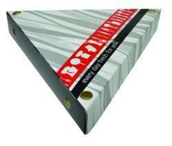 Картонена кутия за палачинки триъгълна 50 бр