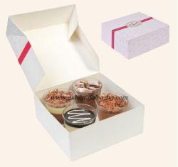 Картонена кутия за 8 парчета торта 20*20*8 см