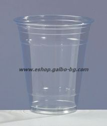 Прозрачна (РЕТ) чаша 12 oz (300/350 мл) 50 бр