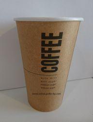 Картонена чаша 16 oz (400 мл) KRAFT COFFEE  1280 бр