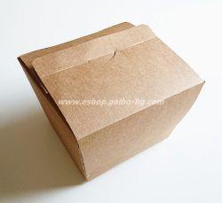 Картонена кутия за хамбургер XL крафт 11*11,5*10 см, 180 бр.