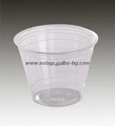 Прозрачна (РЕТ) чаша MG09 200/250 мл 50 бр