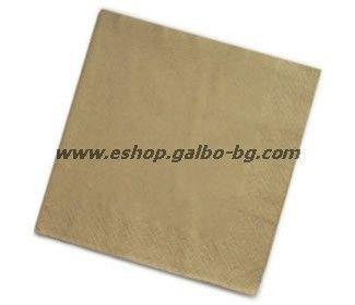 Салфетки КРАФТ  24 см, 500 бр в пакет
