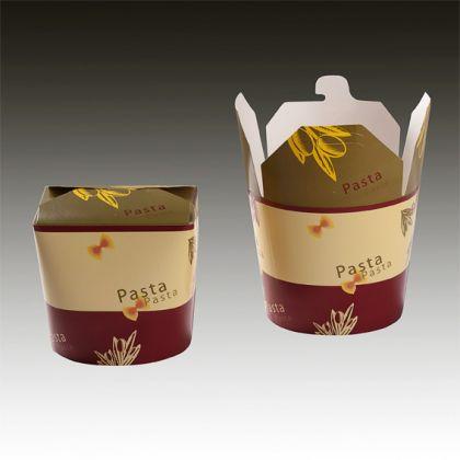 Картонена кутия за храна 750 мл - Pasta - 50 бр