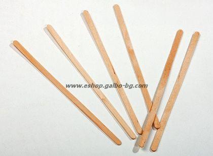 Дървена бъркалка за кафе - 14 см 1000 бр.