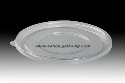Прозрачен (РЕТ) капак за купа за салата  25 бр