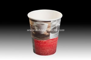 Картонена чаша 8 oz (200 мл) SMART COFFEE  1000 бр