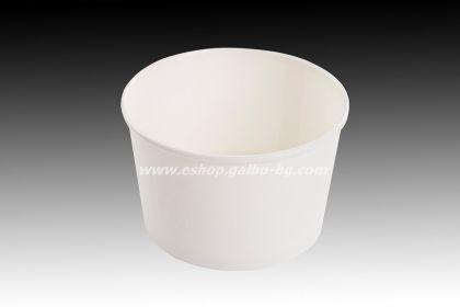 Картонена купа за сладолед 400 мл   25 бр