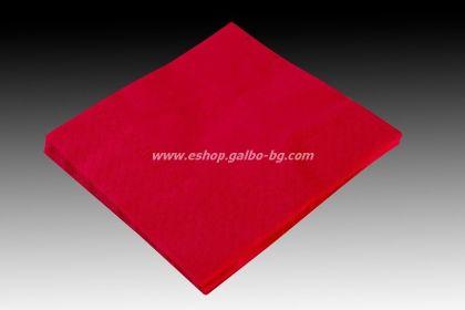 Червени салфетки 24 см, 670 бр в пакет