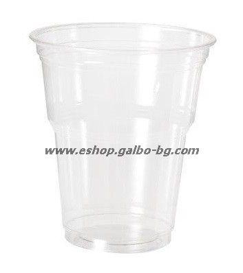 Прозрачна (РЕТ) чаша 12 oz (300 мл) Special, 1000 бр.