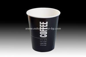 Картонена чаша 16 oz (400 мл) BLACK COFFEE  40 бр