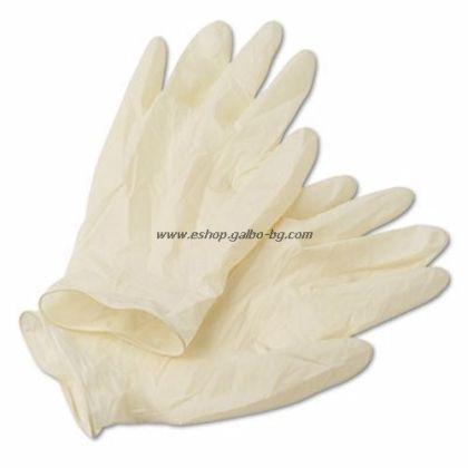 Ръкавици за еднократна употреба Латекс 100 бр. М
