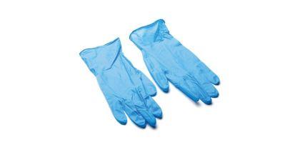 Ръкавици за еднократна употреба Нитрил СИНИ 100 бр. S