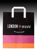 Хартиена чанта 26/13/30 см LONDON MINUTE 200 бр