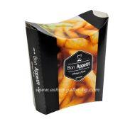 """Картонена кутия за пържени картофки """"Bon Apetit"""" 12*11*7 см  50 бр"""