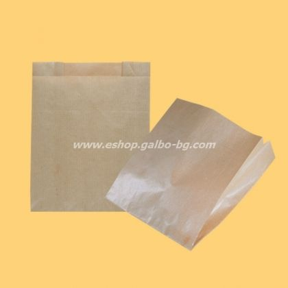 Кафяв хартиен плик 20/4/20 см 100 бр
