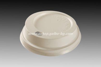 Капак STL 70 мм за картонени вендинг чаши 7 oz,  7,5 oz  100 бр