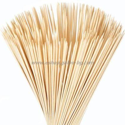 Бамбуков шиш 25 см  100 бр