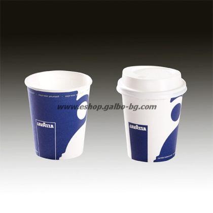 Картонена чаша 7 oz (150 мл) LAVAZZA 100 бр.