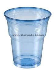 Синя (РЕТ) чаша 12 oz (300 мл) Special, 1000 бр.